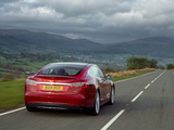 Images of Tesla Model S P85+ UK-spec 2014