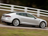 Photos of Tesla Model S Alpha Concept 2011