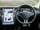 Photos of Tesla Model S P85+ UK-spec 2014