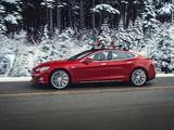 Photos of Tesla Model S P85D 2014