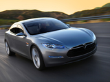 Pictures of Tesla Model S Concept 2009