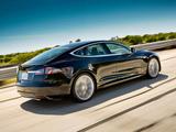 Pictures of Tesla Model S Alpha Concept 2011