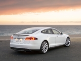 Pictures of Tesla Model S 2012