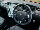 Pictures of Tesla Model S P85+ UK-spec 2014