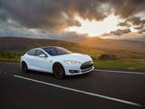 Pictures of Tesla Model S P85+ UK-spec 2014