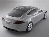 Tesla Model S Concept 2009 images