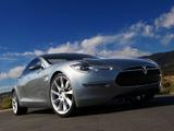 Tesla Model S Concept 2009 photos