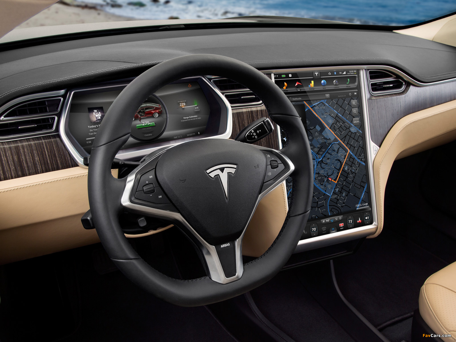 Tesla Model S 2012 images (1600 x 1200)
