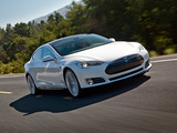 Tesla Model S 2012 wallpapers