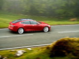 Tesla Model S P85+ UK-spec 2014 photos