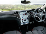 Tesla Model S P85+ UK-spec 2014 pictures