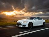 Tesla Model S P85+ UK-spec 2014 pictures
