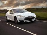 Tesla Model S P85+ UK-spec 2014 wallpapers