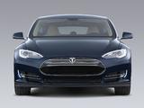 Tesla Model S 2012 wallpapers