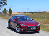 Tesla Model S P85 AU-spec 2014 wallpapers