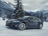 Tesla Model S P85D 2014 wallpapers