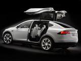 Photos of Tesla Model X Prototype 2012