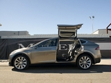 Pictures of Tesla Model X Prototype 2012