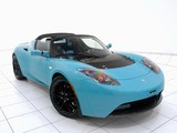 Pictures of Brabus Tesla Roadster Sport Green 2010