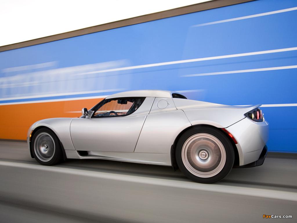 Tesla Roadster 2007–10 images (1024 x 768)