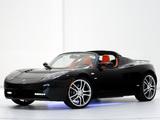 Brabus Tesla Roadster Sport 2008–10 wallpapers