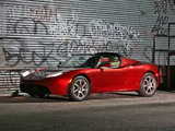 Tesla Roadster 2007–10 wallpapers