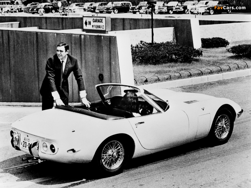 Images of Toyota 2000GT Convertible 1966 (800 x 600)