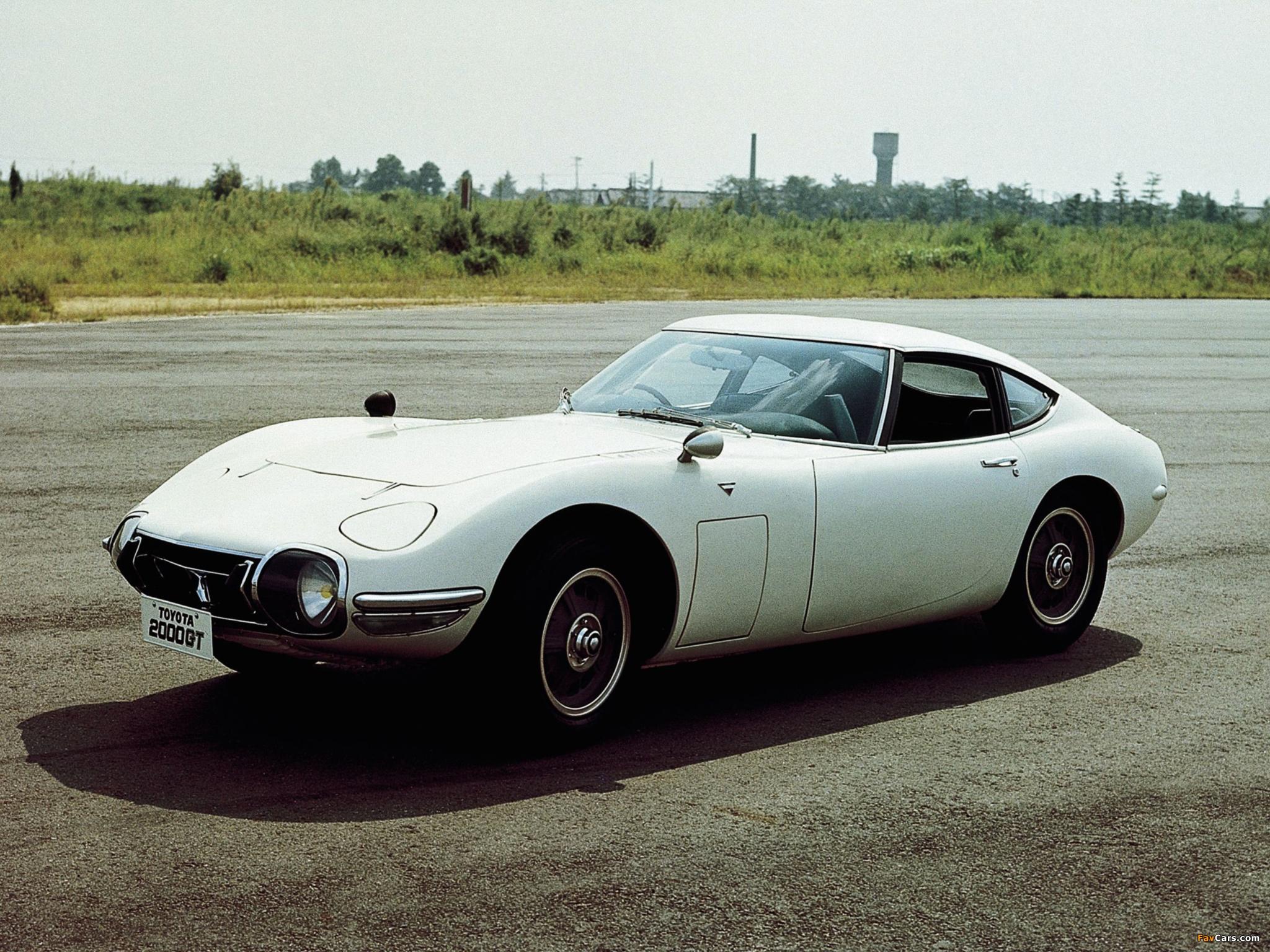 Images of Toyota 2000GT JP-spec (MF10) 1967–70 (2048 x 1536)