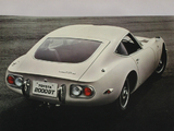 Photos of Toyota 2000GT (MF10) 1967–70
