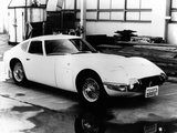 Pictures of Toyota 2000GT Prototype (280A/I) 1965