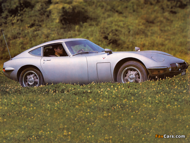 Pictures of Toyota 2000GT JP-spec (MF10) 1967–70 (640 x 480)
