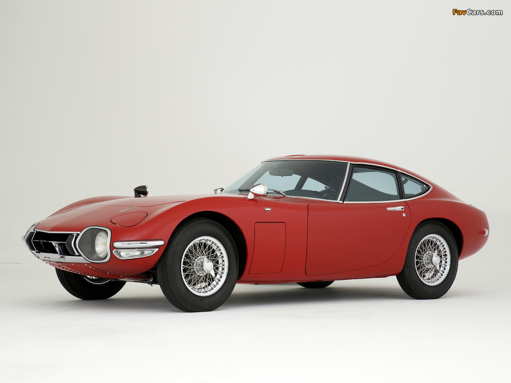 Pictures of Toyota 2000GT JP-spec (MF10) 1967–70 (1024 x 768)