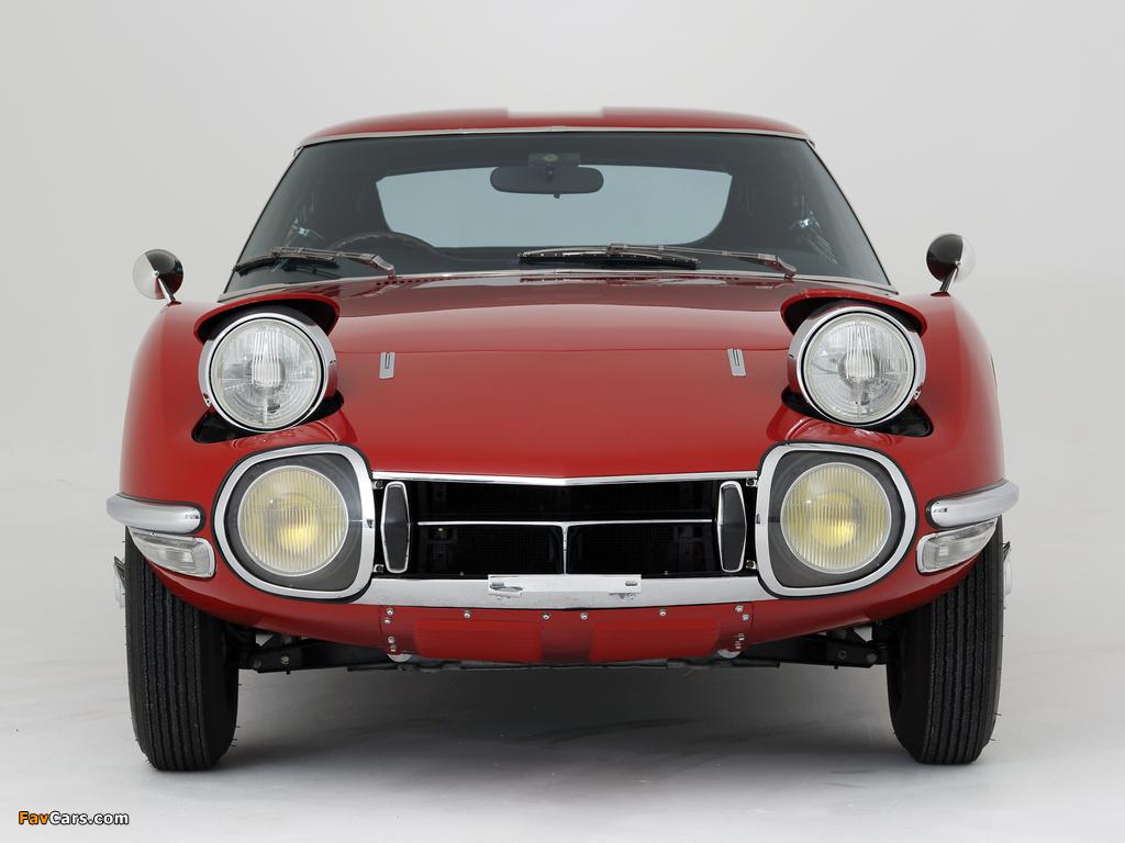 Toyota 2000GT JP-spec (MF10) 1967–70 images (1024 x 768)