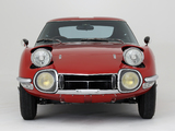 Toyota 2000GT JP-spec (MF10) 1967–70 images