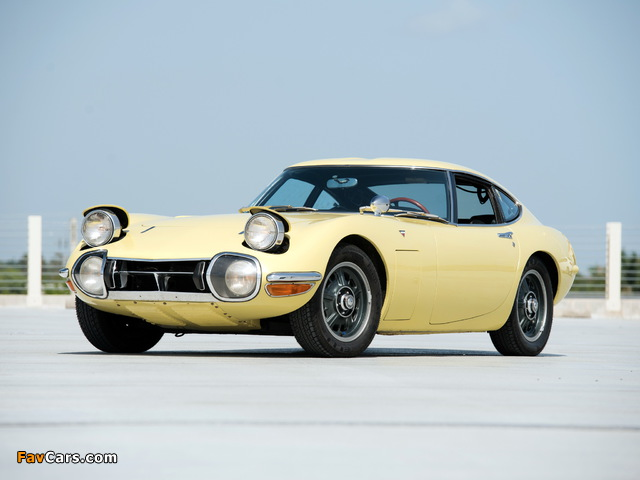 Toyota 2000GT US-spec (MF10) 1967–70 photos (640 x 480)