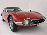 Toyota 2000GT JP-spec (MF10) 1967–70 photos