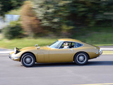 Toyota 2000GT (MF10) 1967–70 wallpapers