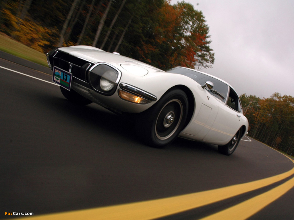 Toyota 2000GT (MF10) 1967–70 wallpapers (1024 x 768)