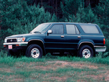 Images of Toyota 4Runner 5-door US-spec 1992–95