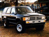 Pictures of Toyota 4Runner 1986–89