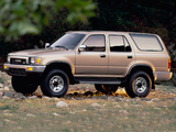 Pictures of Toyota 4Runner 5-door US-spec 1989–92