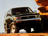 Pictures of Toyota 4Runner 5-door US-spec 1992–95