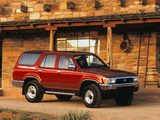 Toyota 4Runner 5-door US-spec 1992–95 pictures