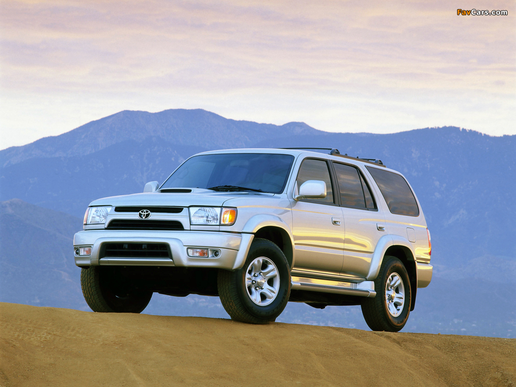 4 Runner >> Toyota 4Runner 1999–2002 wallpapers (1024x768)