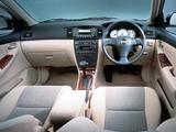 Toyota Allex 2001–02 images