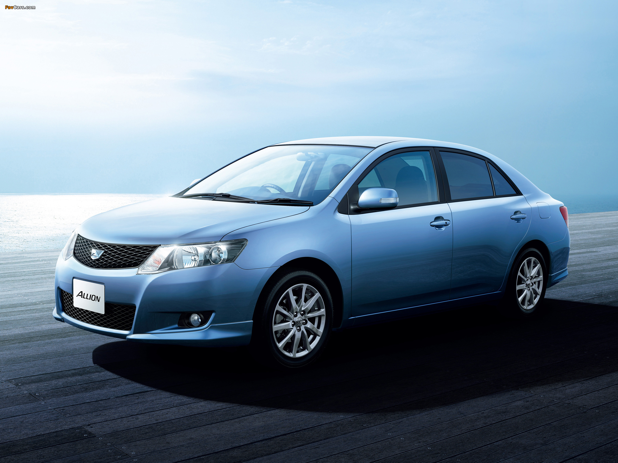 Toyota Allion (T260) 2007–10 wallpapers (2048 x 1536)