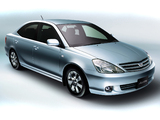 Toyota Allion (T240) 2001–04 wallpapers