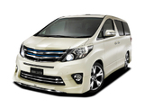 Images of Modellista Toyota Alphard 240S C Package (ANH20W) 2011