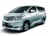 Pictures of Toyota Alphard V Aero (ANH20W) 2009
