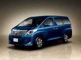 Pictures of Toyota Alphard Hybrid X 4WD (ANH25W) 2011